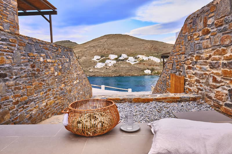 kythnos suites outdoor view